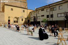 Foto 4 - Galería de imágenes: Ágreda abre la pequeña 'Puerta del Perdón' de la Virgen de los Milagros