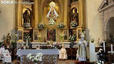 Foto 9 - Galería de imágenes: Ágreda abre la pequeña 'Puerta del Perdón' de la Virgen de los Milagros