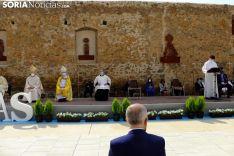 Foto 7 - Galería de imágenes: Ágreda abre la pequeña 'Puerta del Perdón' de la Virgen de los Milagros