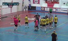 Empate del BM Soria ante el Eibar (22-22): aún se puede soñar
