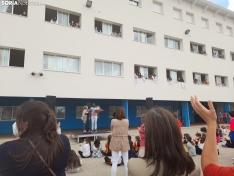 Una imagen del patio de Escolapios hoy. /SN
