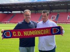 El Numancia recibirá al Atlético de Madrid en pretemporada