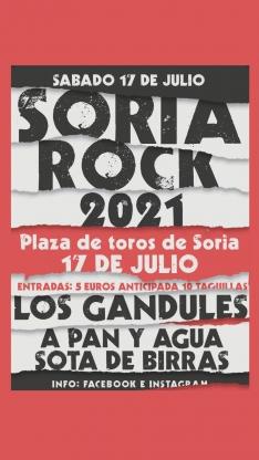 Foto 3 - Desakato, el Drogas y Los Gandules, en el Soria Rock 2021