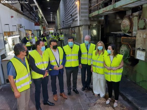 Con 5 M€, Sarrió Papelera de Almazán aumentará la producción, la calidad, la competitividad y la plantilla