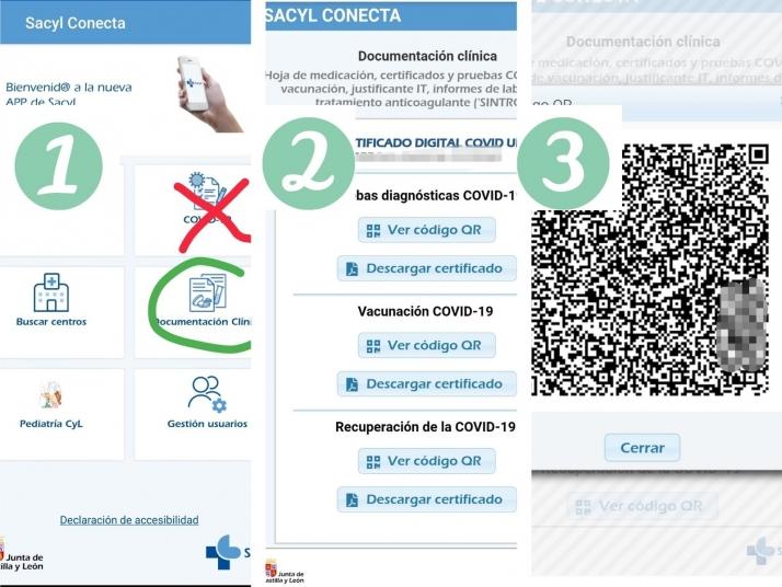 Cómo lograr el Certificado Covid en Castilla y León paso a paso