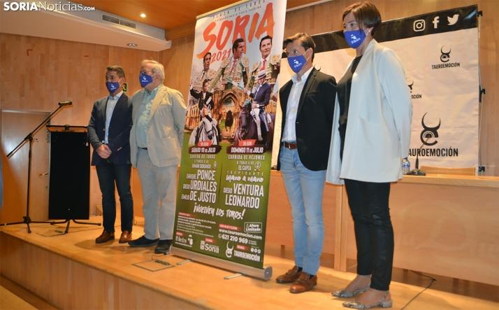 Los abonos para la feria taurina extraordinaria en Soria, del 28 al 30 y el 1 de julio
