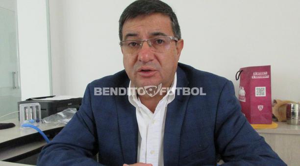 Foto 1 - Santiago Morales, nuevo presidente del C.D. Numancia. Eduardo Rubio, director general