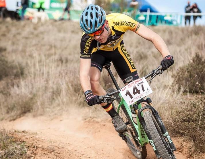 Daniel Mediavilla, la promesa soriana del ciclismo de montaña