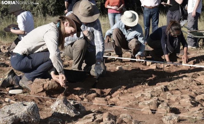 Excavaciones arqueológicas en un yacimiento de la provincia. /SN