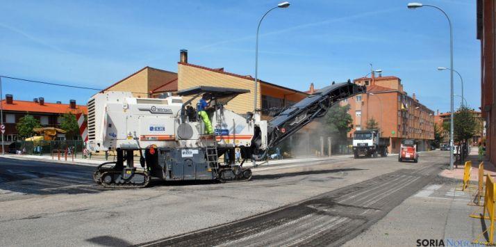 Foto 1 - El Ayuntamiento de Soria arranca este lunes una nueva campaña de asfaltado por 400.000 euros