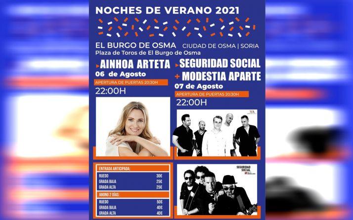 Foto 1 - Ainhoa Arteta inaugurará 'Noches de Verano' en El Burgo de Osma