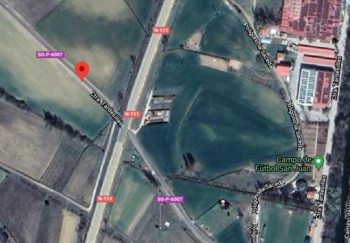 Foto 1 - La carretera SO-P-6007 de Garray estará cortada desde el próximo lunes