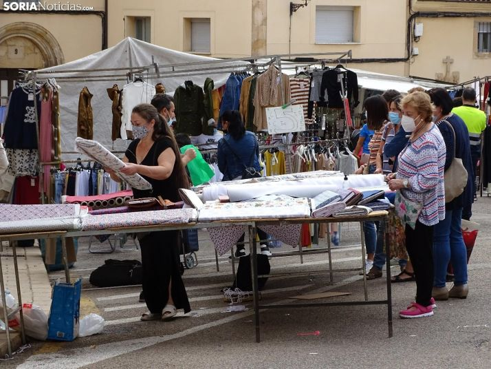 75.000 personas pasan por el mercadillo de Soria desde noviembre