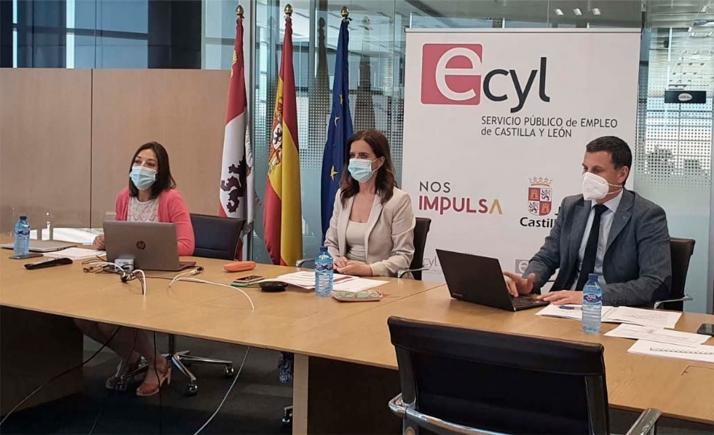 Una imagen del pleno del Consejo General de Empleo. /Jta.