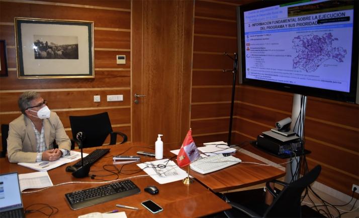 Comité seguimiento PDR 2014-2020. /Jta.