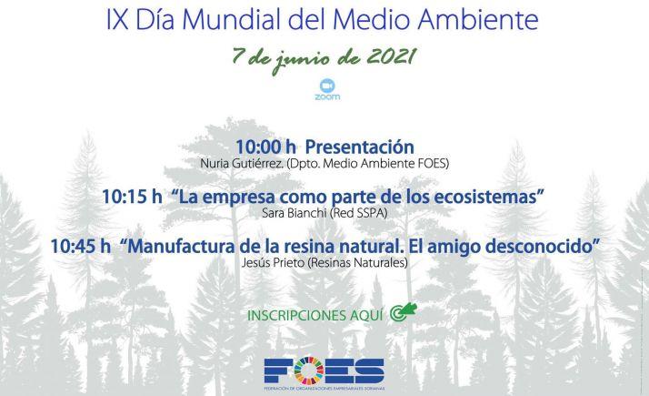 Foto 1 - FOES celebra este lunes el Día Mundial del Medio Ambiente analizando el papel de la empresa en los ecosistemas