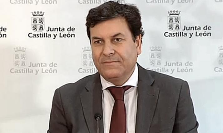 Carlos Fernández Carriedo, consejero de Economía y Hacienda.