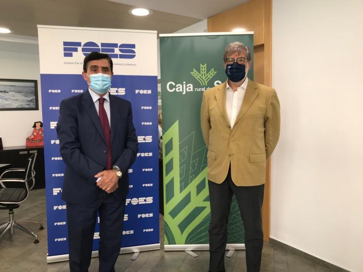 Foto 1 - Caja Rural y FOES unen fuerzas para atraer empresas a Soria