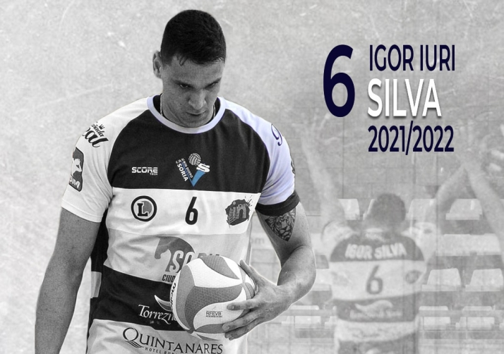 Igor Iuri Silva se confirma para la próxima temporada.
