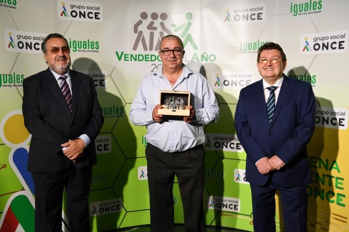 El soriano 'Julito', elegido mejor vendedor de la ONCE en Castilla y León