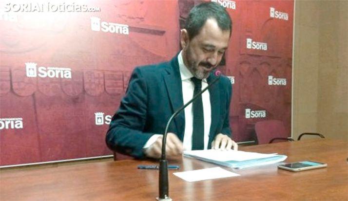 Javier Muñoz, concejal de Hacienda, en una imagen de archivo. /SN