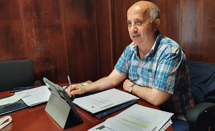 Javier Navarro, diputado responsable del área de Personal. /Dip.