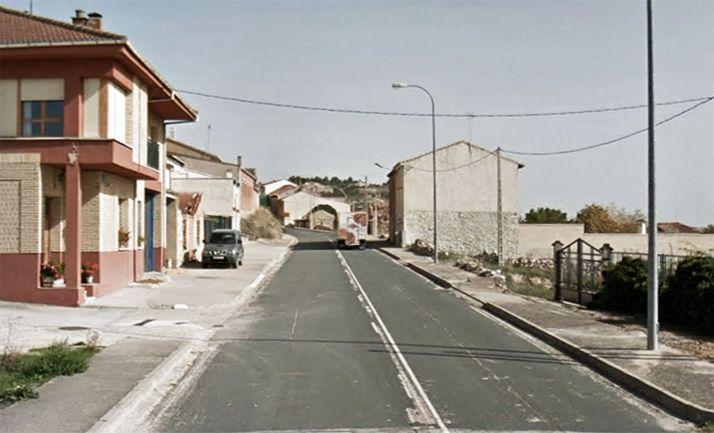 Imagen de la calle Real, antigua travesía de la N-122. /GM