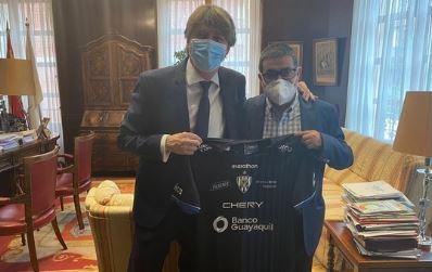El nuevo presidente del Numancia ya está en Soria