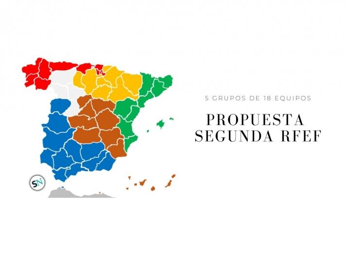 Foto 1 - Propuesta para el complicado mapa de la Segunda Federación