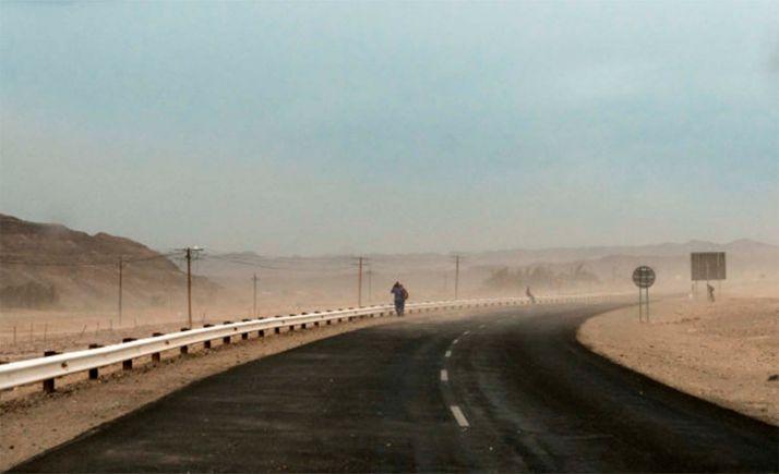 Foto 1 - La Junta alerta sobre nuevas llegadas partículas de polvo africano y recomienda tomar precauciones