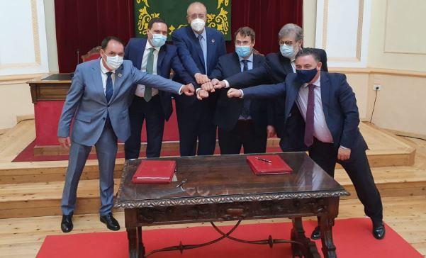 Las diputaciones de Soria, Cuenca y Teruel, juntas para el desarrollo de la Red SSPA