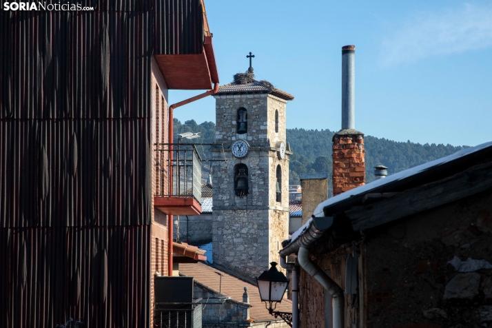 Calles de San Leonardo de Yagüe. /María Ferrer