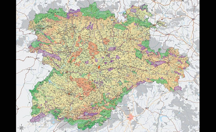 La modificación de la actual ley de ordenación del territorio deberá ser refrendada por las Cortes de Castilla y León