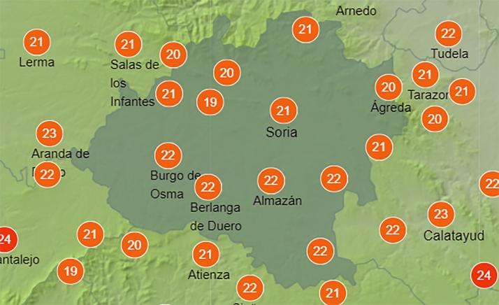 Foto 2 - El tiempo en Soria: Mejoría general