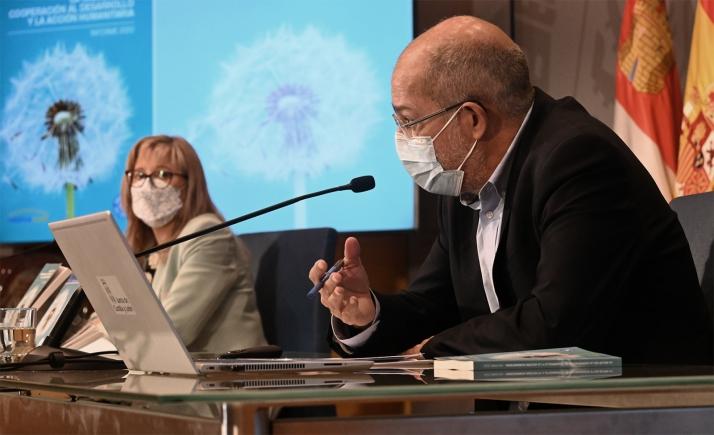 Igea durante su intervención hoy. /Jta.