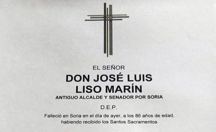 Foto 1 - Fallece José Luis Liso, alcalde de Soria entre 1979 y 1987
