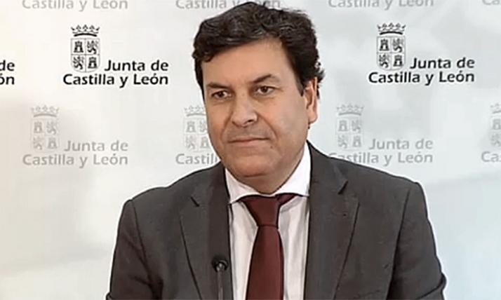 Carlos Fernández Carriedo, consejero de Economía y Hacienda. /Jta.