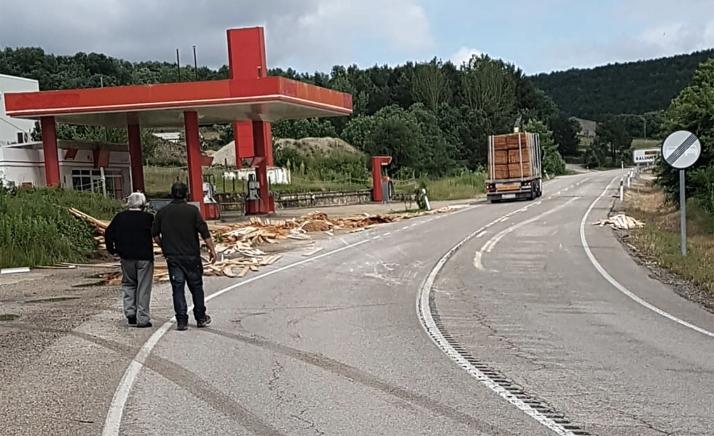 Una imagen del incidente.