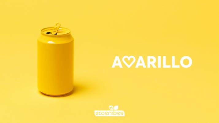 Foto 1 - Cada castellano-leonés depositó en 2020 en el contenedor amarillo 15,5 kg de residuos, un 11,3 % más respecto al año anterior