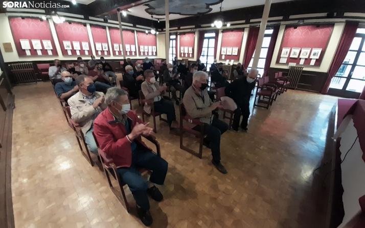 Una imagen del acto celebrado esta tarde en el Casino. /SN