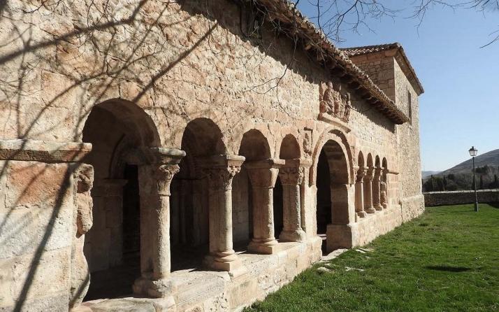 Una imagen del templo con el pórtico en primer plano. /Jta.