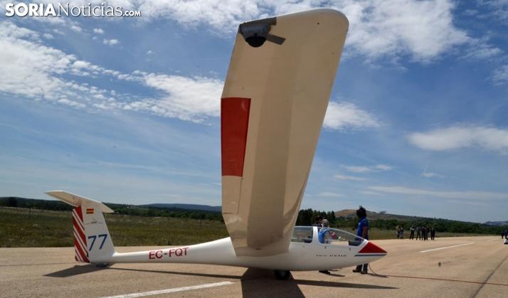 El aeródromo de Garray sigue sumando, aterriza otra escuela con 10 alumnos