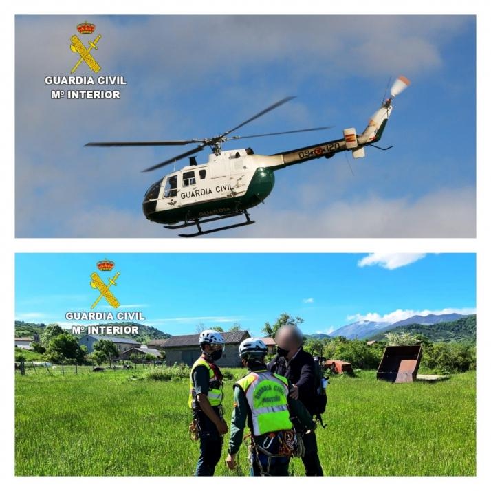 Foto 1 - Los 6 consejos (y una App) que recomienda la Guardia Civil de Castilla y León si se sufre un accidente en la montaña