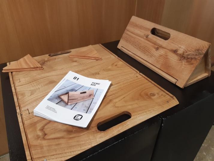 Exposición del proyecto 'Aquí hay madera'.