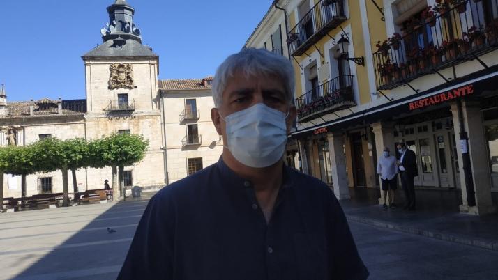 Luis Cuesta, nuevo alcalde en funciones de El Burgo de Osma. /Cope Uxama