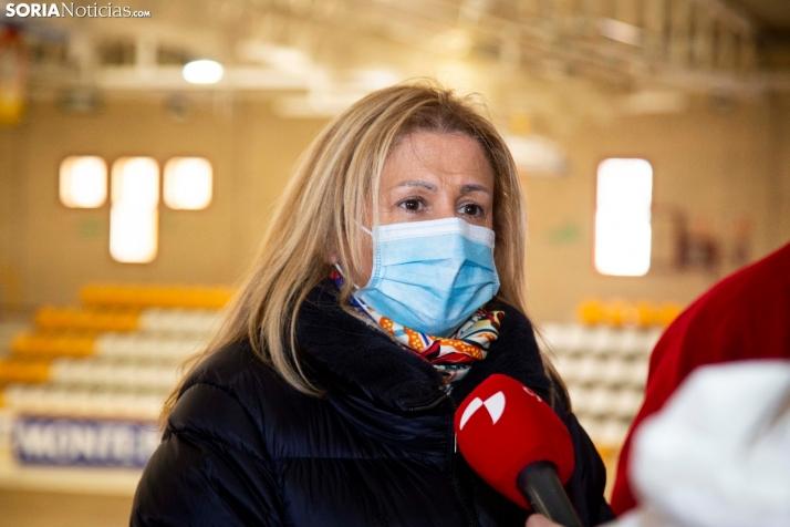 Yolanda de Gregorio, delegada de la Junta en Soria. SN