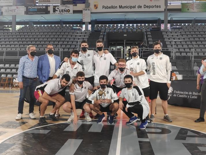 Foto 1 - El CSB Soria, subcampeón de la Copa de Castilla y León