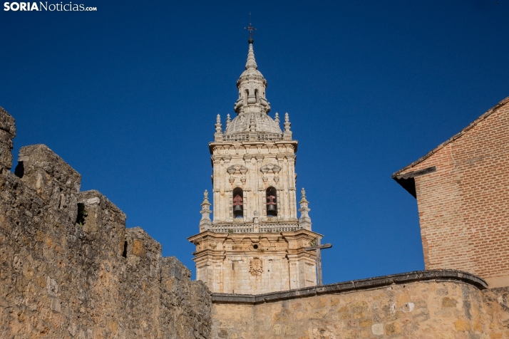 Foto 1 - El Burgo de Osma presumirá de Catedral en la Vuelta Ciclista a España