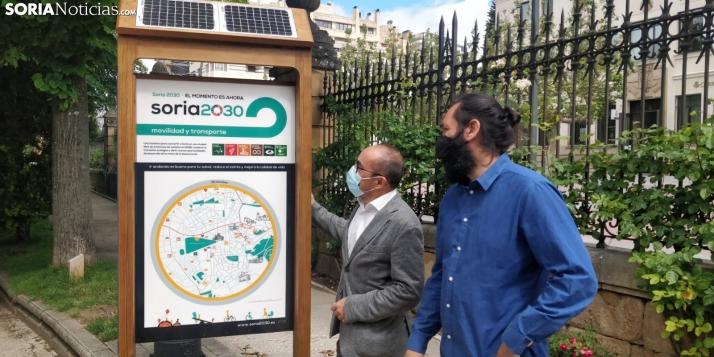 Foto 1 - Soria quiere ser ejemplo de sostenibilidad y valores en Europa y eso empieza por el mobiliario urbano