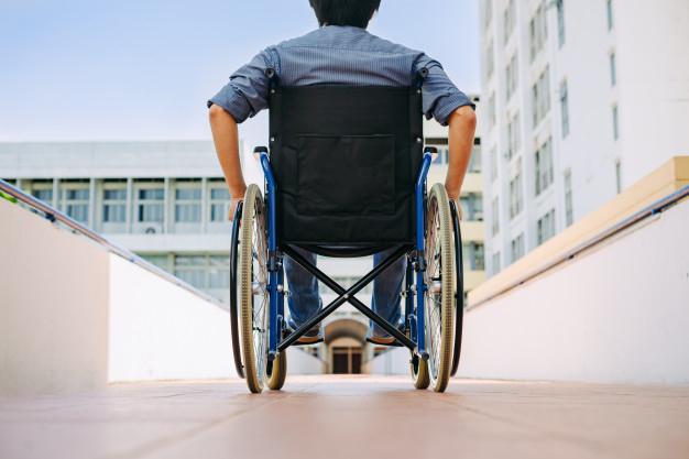 Persona con discapacidad física.